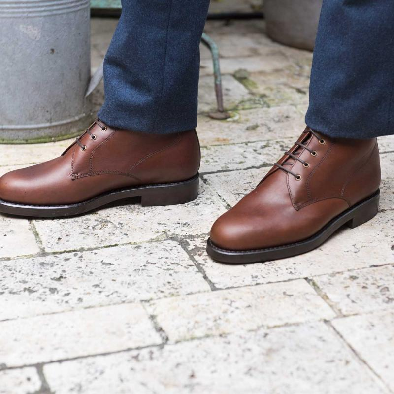 City Boots V2 Marron