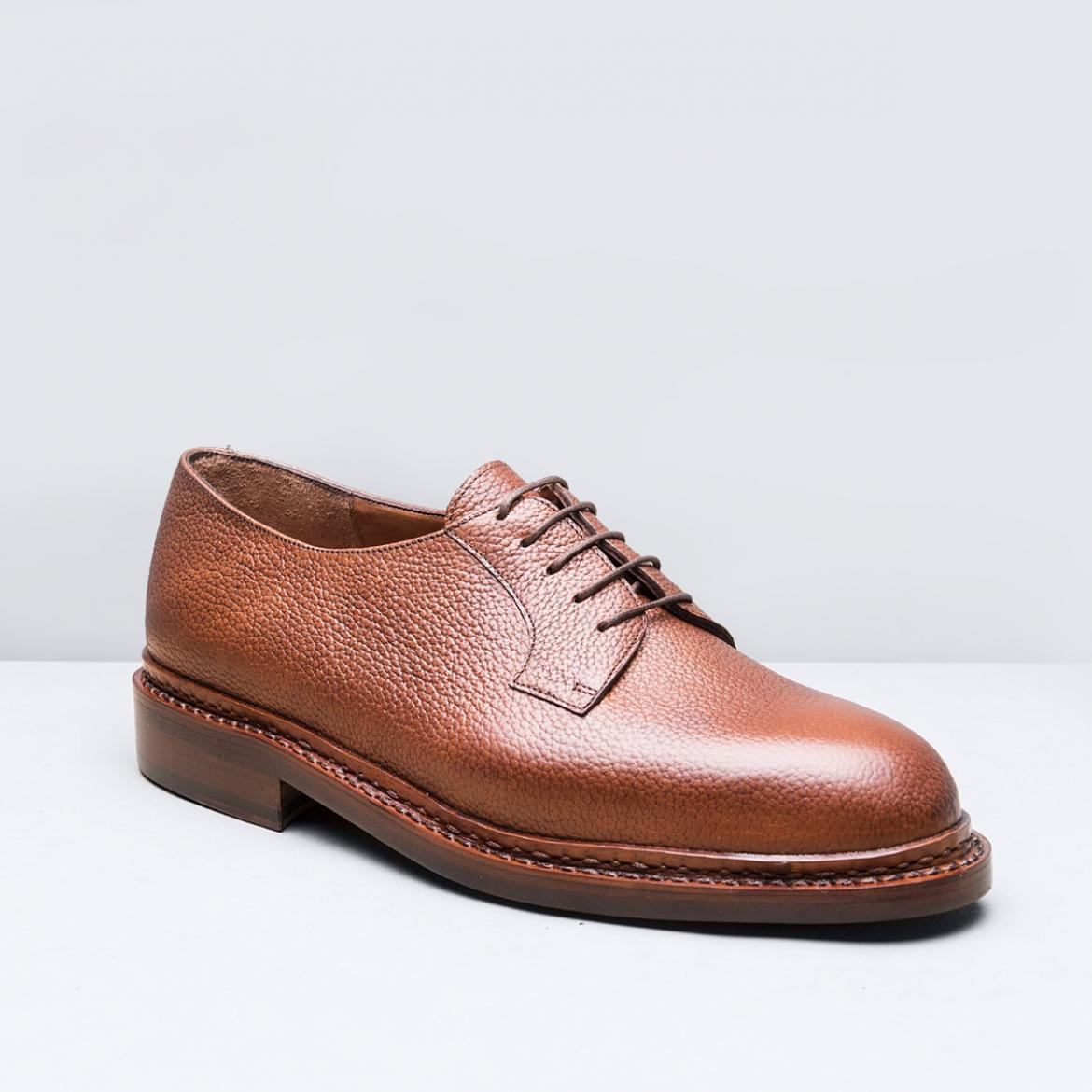 Derby Blucher Fauve graine