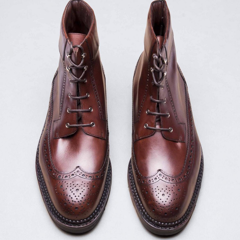 Work Boots Marron