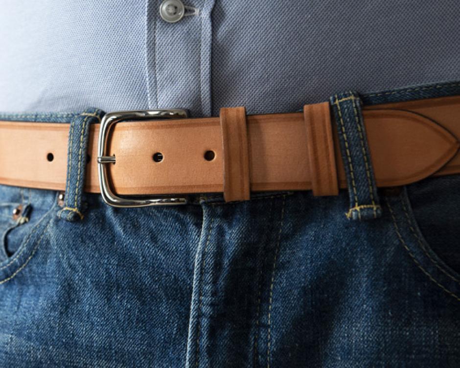 Une ceinture brute