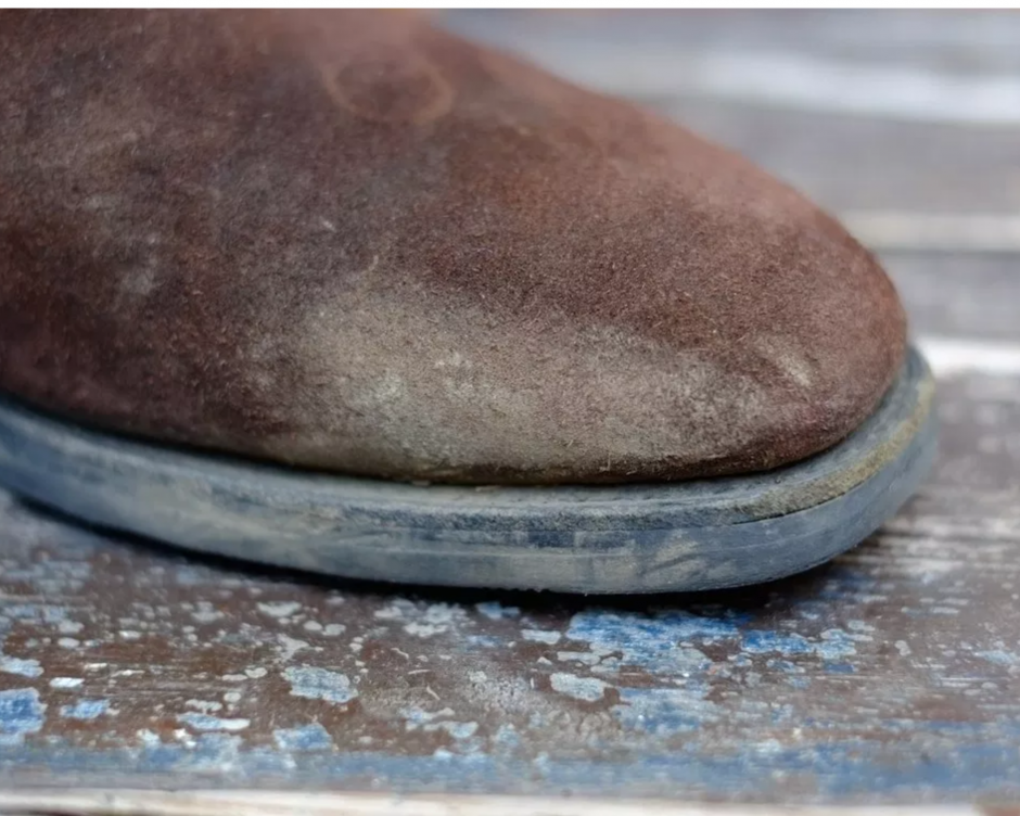 Chaussures tachées ?