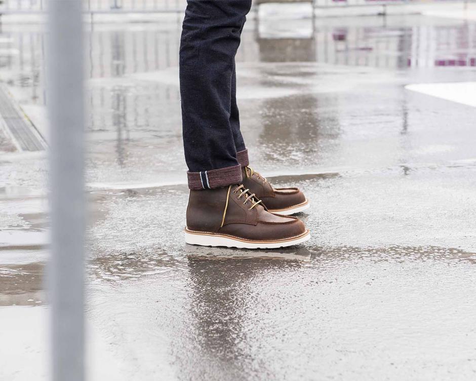 Un cuir totalement waterproof