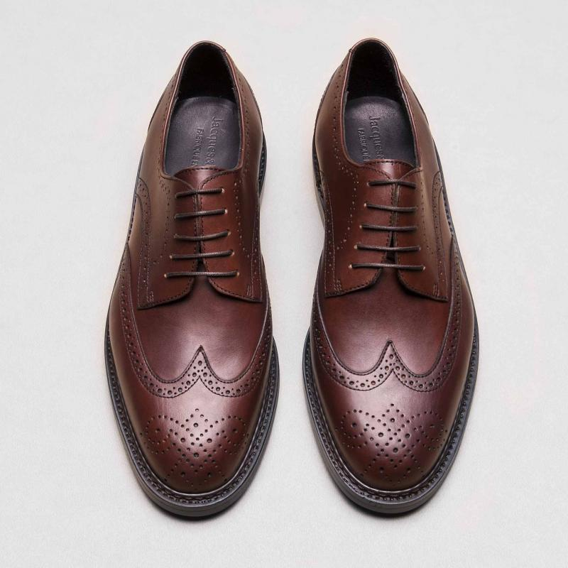 Derby Brogue V2 Marron