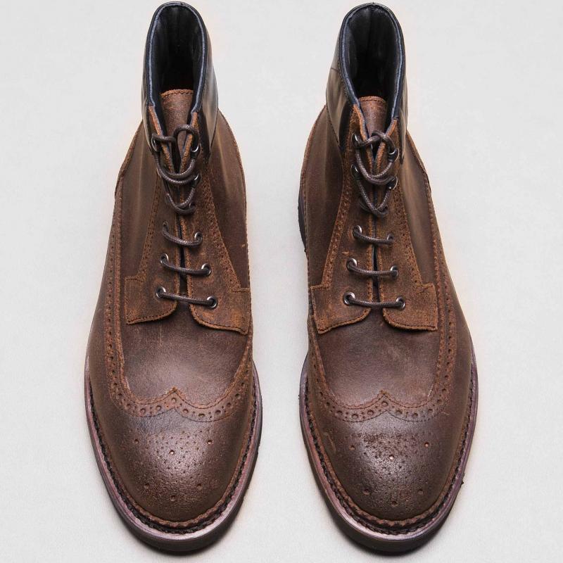 Work Boots Waxy