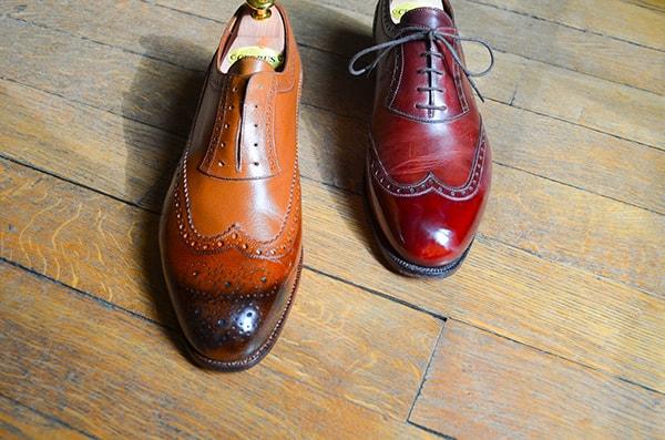 glaçage chaussures