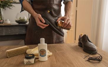 Satiner cuir gras