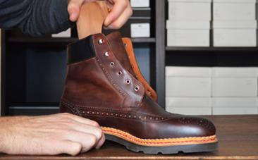 entretien chaussure timberland cuir gras